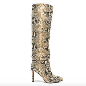 Vince Camuto Kashiana Snakeskin Boots Size 8
